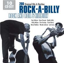 Rock-A-Billy - Rock And Roll & Hillbilly, 10 CDs
