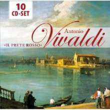 Antonio Vivaldi (1678-1741): Vivaldi - Il Prete Rosso, 10 CDs