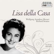 Lisa della Casa singt Arien & Lieder, 4 CDs