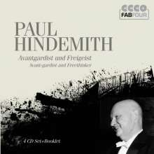 Paul Hindemith (1895-1963): Paul Hindemith - Avantgardist und Freigeist, 4 CDs