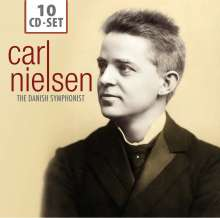 Carl Nielsen (1865-1931): Carl Nielsen - The Danish Symphonist, 10 CDs
