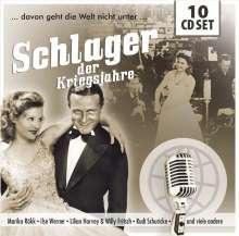 Schlager der Kriegsjahre (Walletbox), 10 CDs