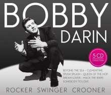 Bobby Darin: Rocker - Swinger - Crooner, 5 CDs