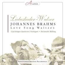 Johannes Brahms (1833-1897): Liebeslieder-Walzer op.52 & op.65, CD