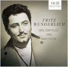 Fritz Wunderlich - Welterfolge und Raritäten, 10 CDs