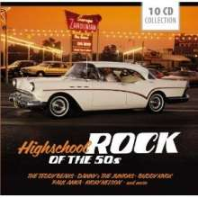 Highschool Rock Of The 50s (Box-Set), 10 CDs