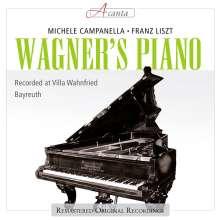 Michele Campanella - Wagners Flügel, CD