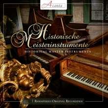 Historische Meisterinstrumente, 2 CDs