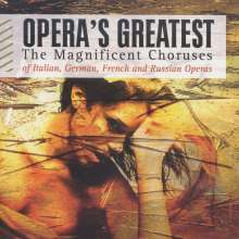 Opera's Greatest - The Magnificent Choruses, 4 CDs