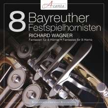8 Bayreuther Festspielhornisten - Richard Wagner, CD