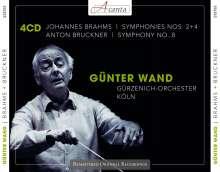 Günter Wand dirigiert, 4 CDs