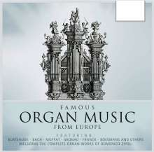 Famous Organ Music from Europe, 10 CDs