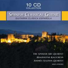 The Spanish Classical Guitar, 10 CDs