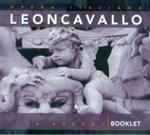 Ruggero Leoncavallo (1857-1919): La Boheme, 2 CDs