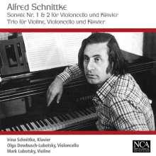 Alfred Schnittke (1934-1998): Cellosonaten Nr.1 & 2, CD