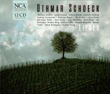 Othmar Schoeck (1886-1957): Sämtliche Lieder, 12 CDs