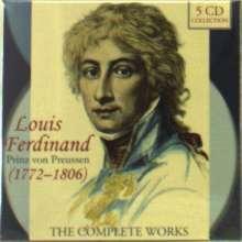 Louis Ferdinand Prinz von Preussen (1772-1806): Das Gesamtwerk, 5 CDs
