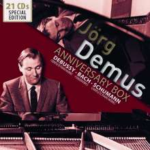 Jörg Demus - Anniversary Box, 21 CDs