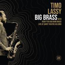 Timo Lassy (geb. 1974): Big Brass: Live At Savoy Theatre Helsinki, 2 LPs