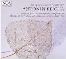 Anton Reicha (1770-1836): Bläserquintett op.91 Nr.2, CD