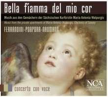 Bella Fiamma del mio Cor - Musik aus den Gemächern der Sächsischen Kurfürstin Maria Antonia Walpurgis, CD