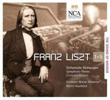 Franz Liszt (1811-1886): Franz Liszt - The Sound of Weimar, 5 CDs