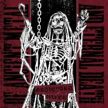 """Graveyard / Ulcer: Split (White Vinyl), Single 7"""""""