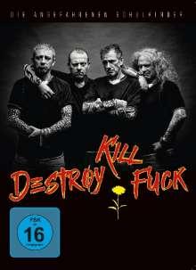 Die Angefahrenen Schulkinder: Destroy Kill Fuck, DVD
