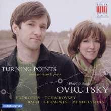 Mikhail & Sonya Ovrutsky - Turning Points, CD