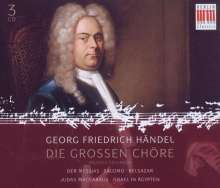 Georg Friedrich Händel (1685-1759): Die grossen Chöre, 3 CDs