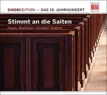 """ChorEdition - 19.Jahrhundert """"Stimmt an die Saiten"""", CD"""