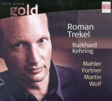 Roman Trekel singt Lieder, CD
