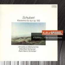 Franz Schubert (1797-1828): Klaviertrio Nr.2 D.929, CD