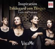 Hildegard von Bingen (1098-1179): Inspiration - Lieder und Visionen, CD