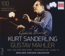 Gustav Mahler (1860-1911): Symphonien Nr.9 & 10 (vervollständigt von Deryck Cooke), 3 CDs