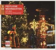 Dresdner Kreuzchor - Festliche Weihnachten mit den Dresdner Kreuzchor, 3 CDs