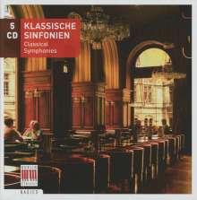 Klassische Symphonien, 5 CDs
