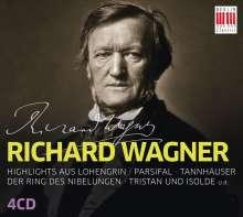 Richard Wagner (1813-1883): Richard Wagner - Auszüge aus Opern, 4 CDs