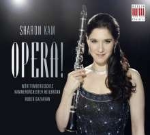 Sharon Kam - Opera, CD