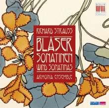 Richard Strauss (1864-1949): Sonatinen für Bläser Nr.1 & 2, CD