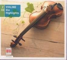 Violin - DIe Highlights, 2 CDs