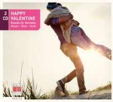 Happy Valentine - Klassik für Verliebte, 2 CDs