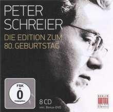 Peter Schreier - Die Edition zum 80. Geburtstag, 8 CDs