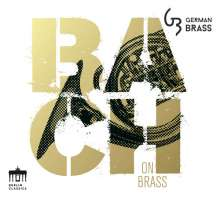 German Brass - Bach on Brass, CD