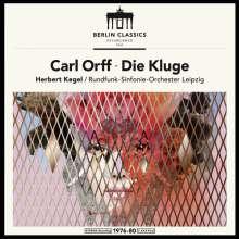 Carl Orff (1895-1982): Die Kluge (180g), 2 LPs