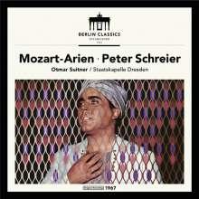 Peter Schreier singt Mozart-Arien, CD