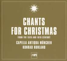 Capella Antiqua München - Chants for Christmas, CD