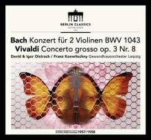 David & Igor Oistrach spielen Violinkonzerte, CD