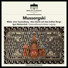 Modest Mussorgsky (1839-1881): Bilder einer Ausstellung (Orch.Fass.) (180g), LP