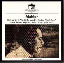 Gustav Mahler (1860-1911): Symphonie Nr.5, 2 CDs